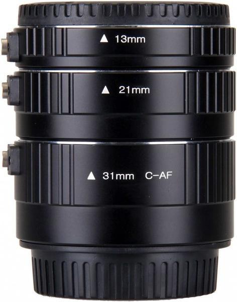 B.I.G. Auto-Zwischenring Set 13/21/31 mm für Canon