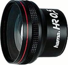 Hama Video-Objektiv HR 0,5 x (44380)