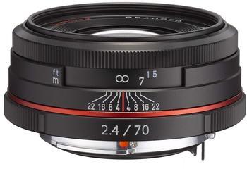 Pentax HD DA 70mm f2.4 Limited (schwarz)