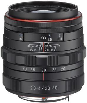 Pentax HD DA 20-40 mm f2.8-4 ED Limited DC WR (schwarz)