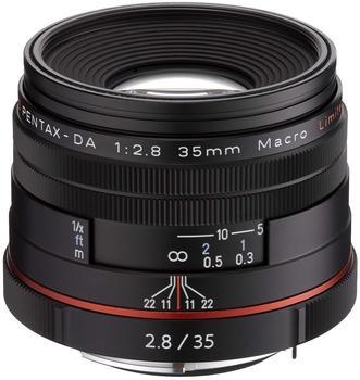 Pentax HD DA 35mm f2.8 Macro Limited (schwarz)