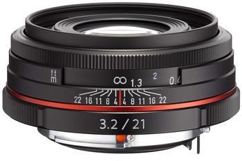 Pentax HD DA 21mm f3.2 AL Limited (schwarz)