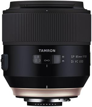 Tamron F016N SP 85mm F/1,8 Di VC USD Objektiv für Nikon