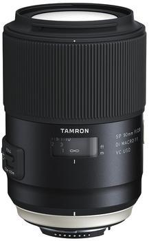 Tamron F017N SP 90mm F/2.8 Di Macro 1:1 VC USD Nikon Kamera-Objektive