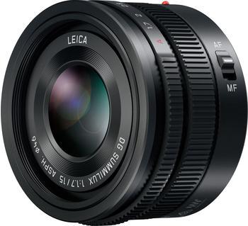 Panasonic LEICA DG SUMMILUX 15mm f1.7 ASPH (schwarz) (H-X015E-K)