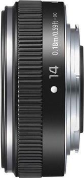 Panasonic Lumix G 14mm f2.5 II Asph. schwarz