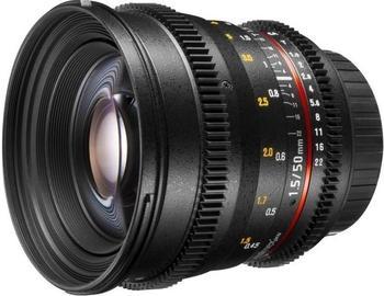 Walimex pro 50mm f1.5 VCSC [Sony NEX]