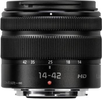 Panasonic Lumix G Vario 14-42mm f3.5-5.6 II ASPH OIS (schwarz)