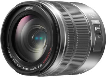 Panasonic Lumix G Vario 14-140mm f3.5-5.6 ASPH Power OIS silber