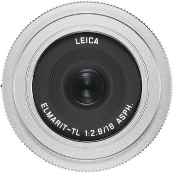 Leica Elmarit-TL 18mm 1:2.8 Asph. silber