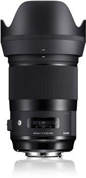 Sigma 40mm F1.4 DG HSM Art Nikon F