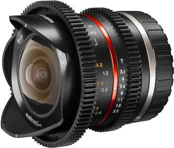 Walimex 8mm F3,1 Fisheye VCSC Sony E schwarz