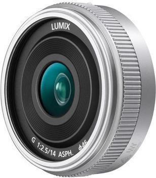 Panasonic Lumix G 14mm f2.5 II Asph. silber