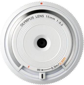 Olympus M.Zuiko Digital 15mm F8,0 weiß