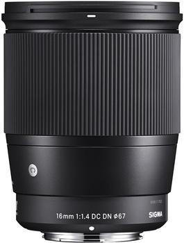 Sigma 16mm F1.4 DC DN Contemporary Canon EF-M