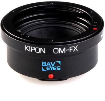 Kipon Baveyes Adapter Olympus OM / Fuji X