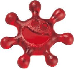 Koziol Drehverschlußöffner Sunny rot
