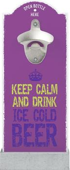 contento-wandflaschenoeffner-keep-calm-and-drink-ice-cold-beer-lila