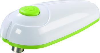 GOURMETmaxx elektrischer Dosenöffner weiß / limegrün
