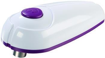 GOURMETmaxx elektrischer Dosenöffner weiß / lila