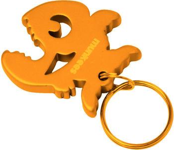 Munkees Flaschenöffner Piranha orange Stahl 3,9 cm