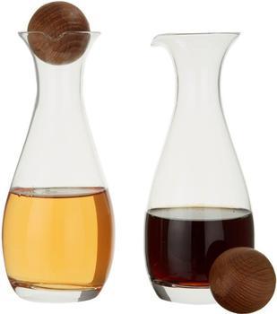 Sagaform Essig/Öl-Flasche mit Holzkugel
