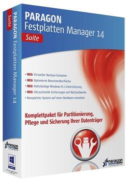Paragon Festplatten Manager 14 Suite