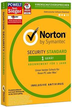 Symantec Norton Security Standard 2016 DE Win