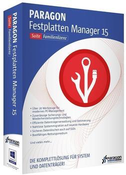 Paragon Festplatten Manager 15 Family Suite (DE) (Win)