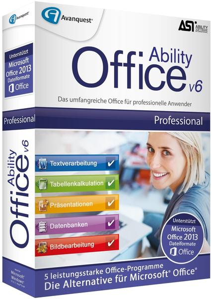 Avanquest Ability Office 6 Professional