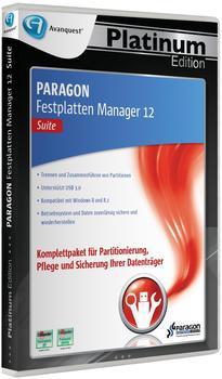 Paragon Festplatten Manager 12 Suite (DE) (Win)