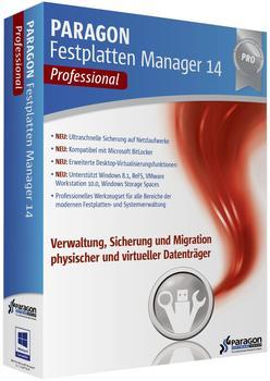 Paragon Festplatten Manager 14 Professional (DE) (Win)