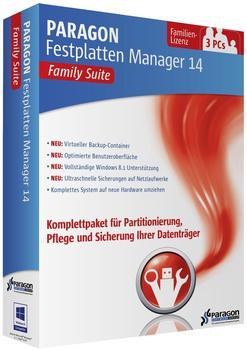 Paragon Festplatten Manager 14 Family Suite (DE) (Win)