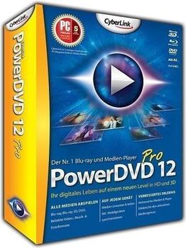 CyberLink PowerDVD 12 Pro (Win) (DE)