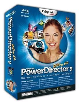 CyberLink Power Director 9 Ultra (Win) (DE)