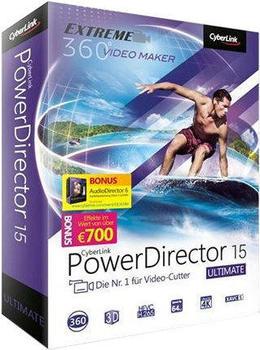 CyberLink PowerDirector 15 Ultimate (Box)