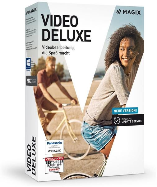 magix video deluxe 2018 standard box ab 39 95 g nstig im preisvergleich. Black Bedroom Furniture Sets. Home Design Ideas