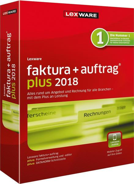 Lexware Faktura + Auftrag 2018 Plus (Box)
