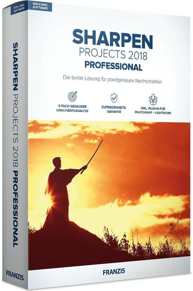 Franzis SHARPEN projects 2018 professional