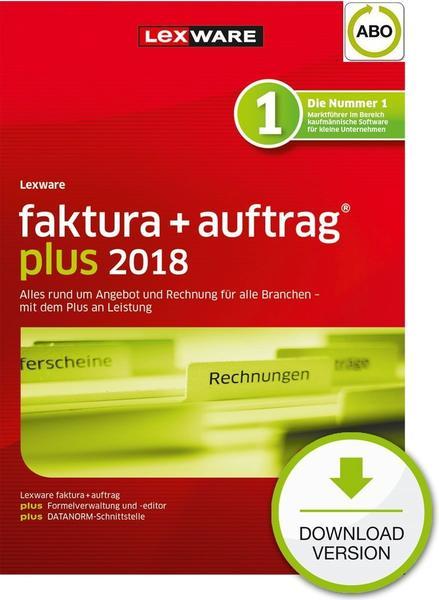 Lexware Faktura + Auftrag 2018 Plus (Jahresabo) (ESD)
