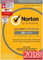 Symantec Norton Security Premium 2018