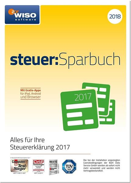 Buhl WISO Steuer:Sparbuch 2018 (ESD)