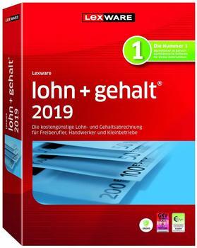 Lexware lohn+gehalt 2019 mit 365 Tage Aktualitätsgarantie]