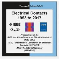 Vde-Verlag Electrical Contacts 1953 to 2017 1 DVD-ROM