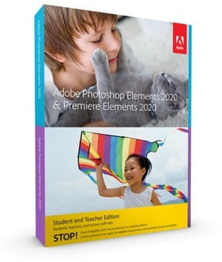 Adobe Photoshop Elements & Premiere Elements 2020 (EN) (Box) (Edu)