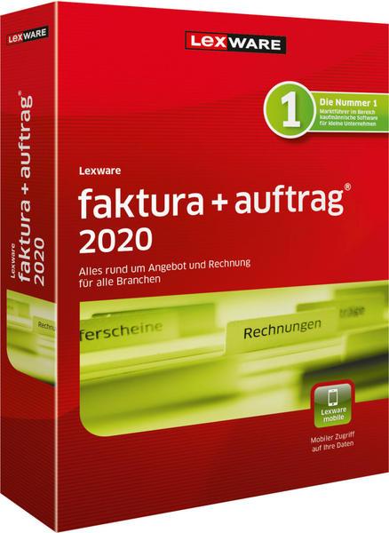 Lexware Auftrag+Faktura 2020