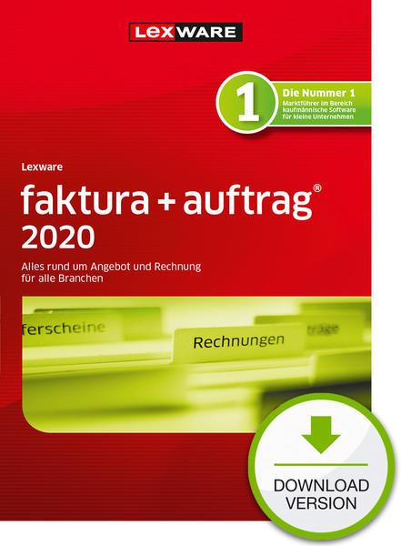 Lexware faktura+auftrag 2020