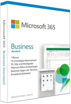 Microsoft 365 Business Standard PKC DE Win Mac Android iOS
