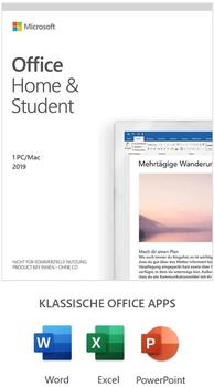Microsoft Office Home & Student 2019 ESD ML Win Mac