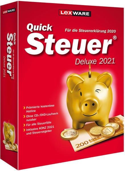 Lexware QuickSteuer 2021 Deluxe (Box)